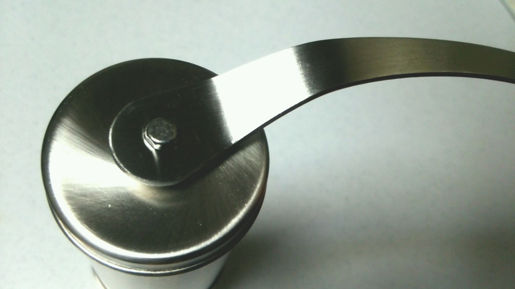 E-PRANCE® 手挽きコーヒーミル セラミック ステンレス コーヒーミル手動ハンドル装着