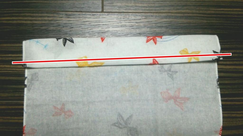 自作ふんどしの作り方 越中ふんどしタイプ 縫い方