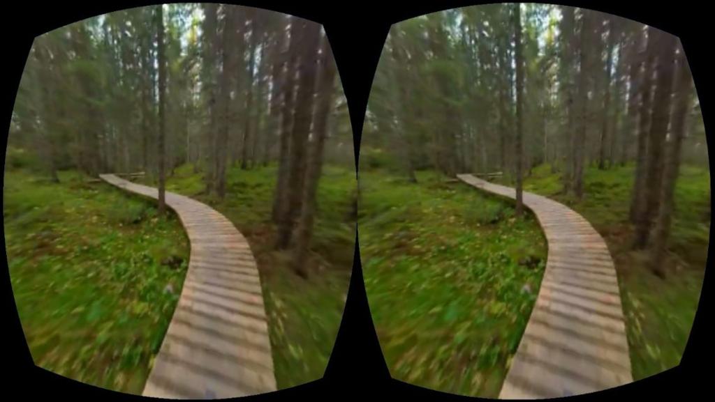 VR対応iphoneアプリMaking View画面サンプル