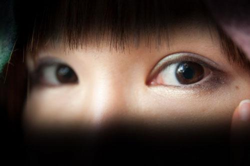 誰かの視線を感じる