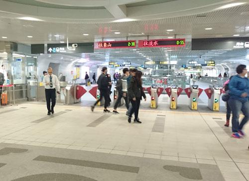 台北101駅駅構内