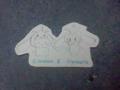シナモン(ウゴマルの帽子)×ウゴマル(シナモンの帽子)