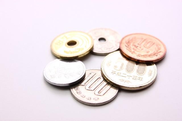 日本の小銭