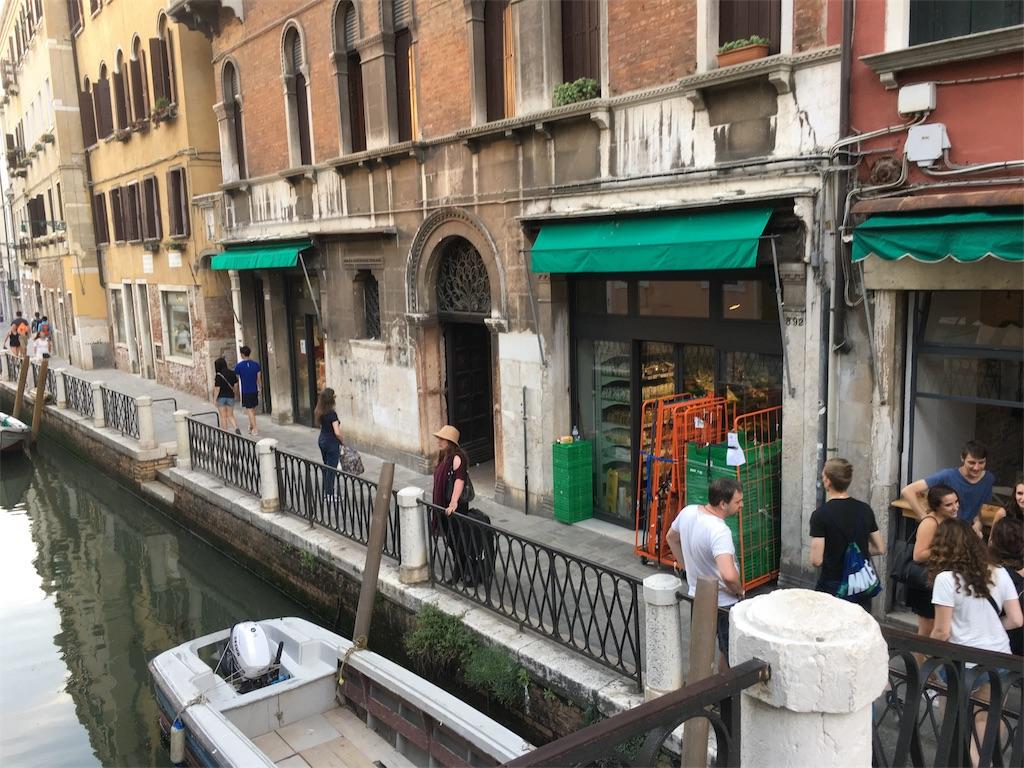 ベネチアのスーパー