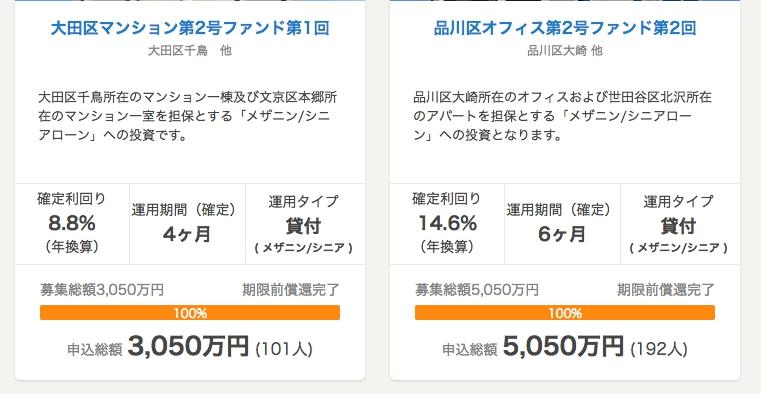 OwnersBookの高利回り商品