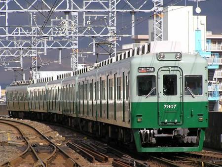 個別「日が差した!南海7000系旧塗装@岸和田」の写真、画像 - 置き場