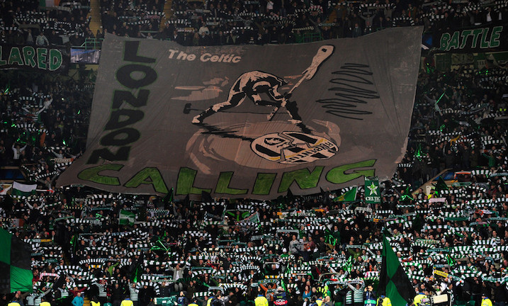画像:London Calling by Celtic supporters
