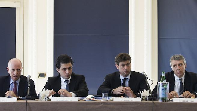 画像:地方行政裁判所に訴えたユベントスの首脳陣