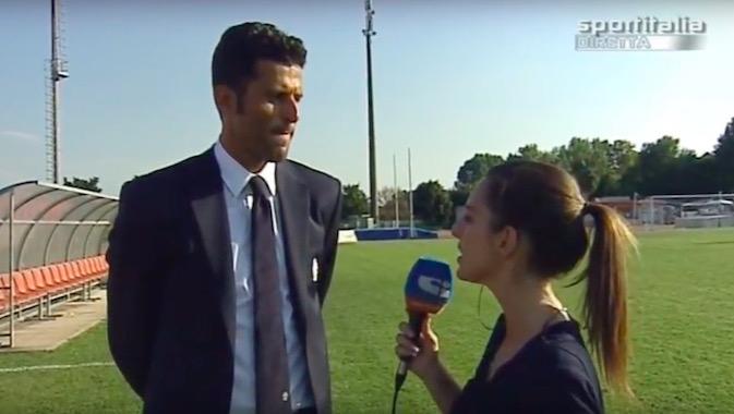 画像:今季もプリマベーラを率いるグロッソ監督