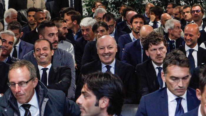 画像:会合に出席したマロッタGM(写真:中央)