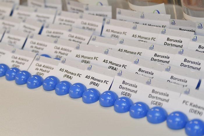 画像:UEFA Youth League - Playoff Draw