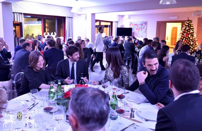 画像:Juventus X'mas Dinner 2016