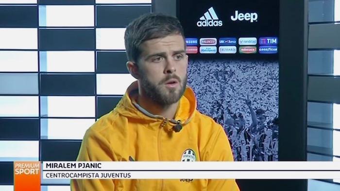 画像:インタビューに応じたピアニッチ