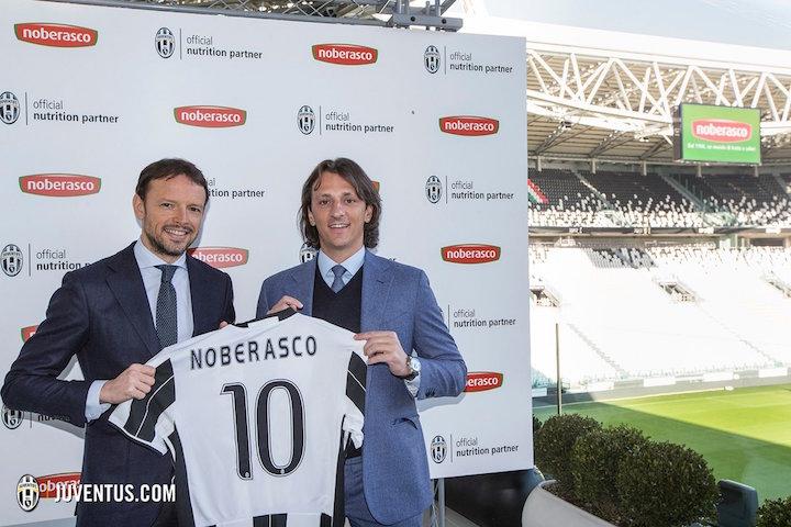 画像:Juventus x Noberasco