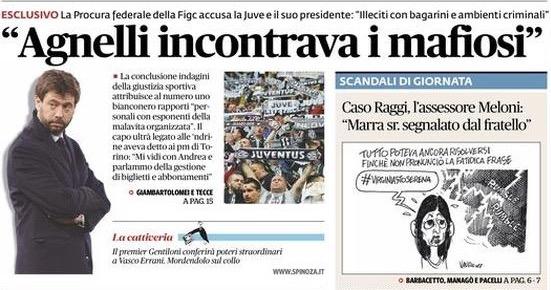 画像:Fatto Quotidianoが掲載した記事