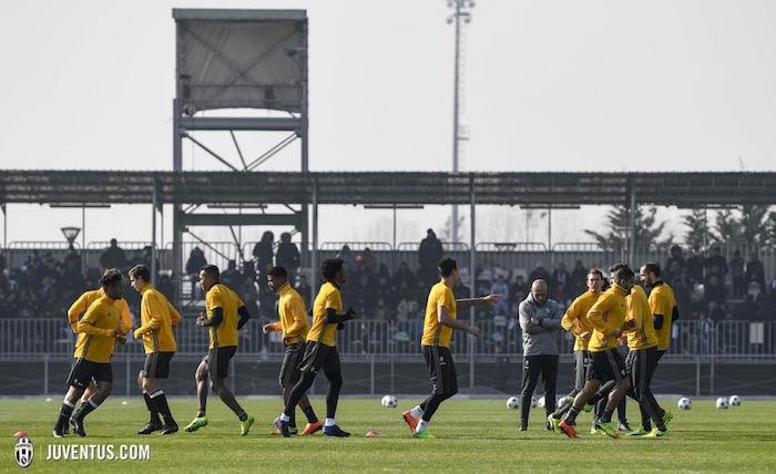 画像:ビノーボでファンに公開されたトレーニング風景