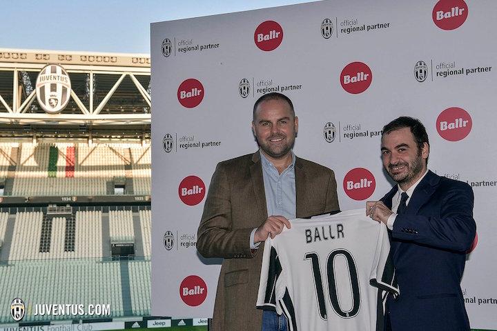 画像:Juventus x Ballr