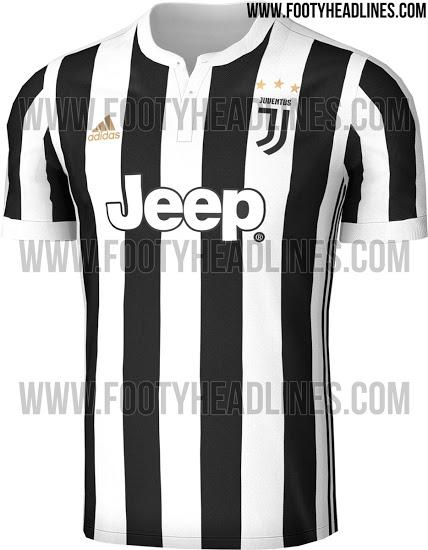 画像:2017/18 Juventus Home Kit (Leak)