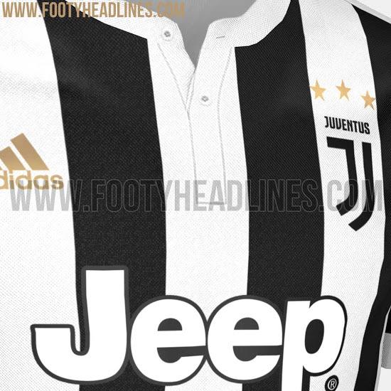 画像:2017/18 Juventus Home Kit 2 (Leak)