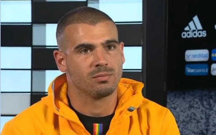 画像:スカイのインタビューに応じたストゥラーロ