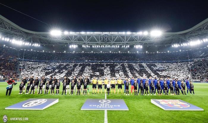 画像:2016/17 UEFA CL 準々決勝バルセロナ戦