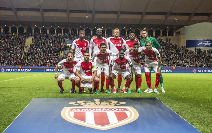 画像:準決勝でユベントスと対戦するモナコ