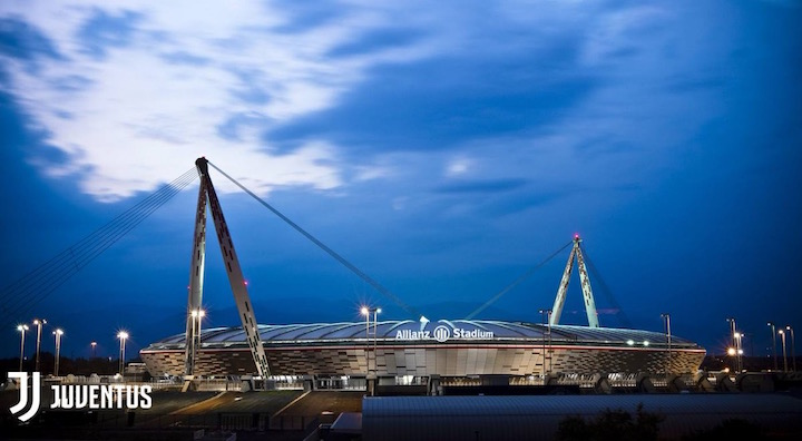 画像:『アリアンツ・スタジアム』に名称が変わるユベントス・スタジアム