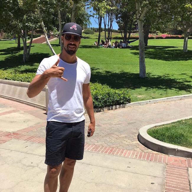 画像:UCLA を訪れたケディラ