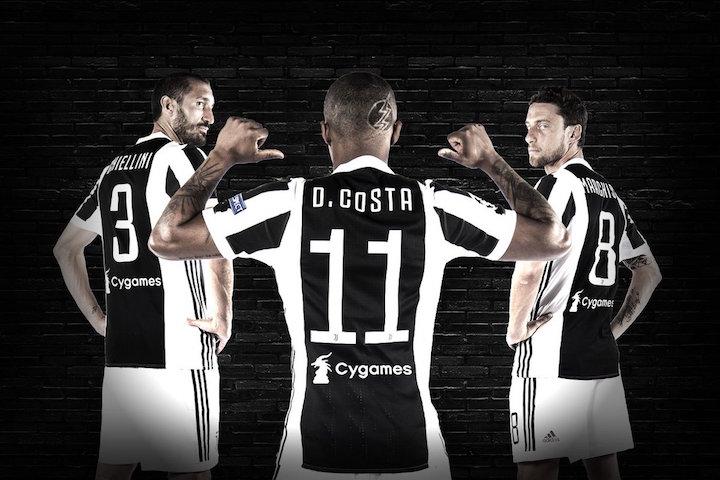 画像:Juventus X Cygames