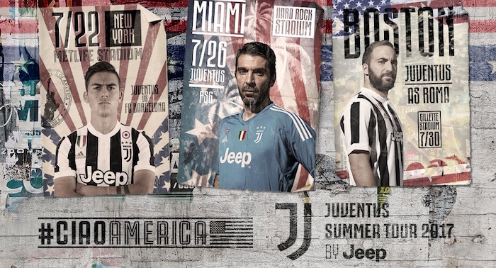画像:Juventus Summer Tour 2017