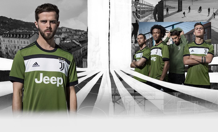 画像:Juventus 2017/18 Third Kit