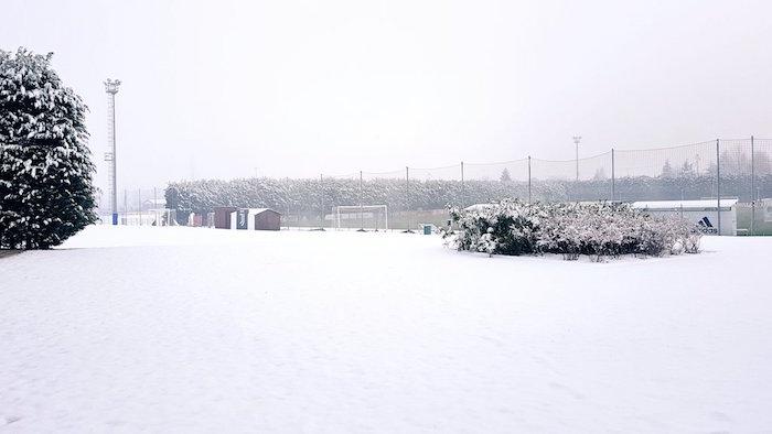 画像:積雪があったビノーボ