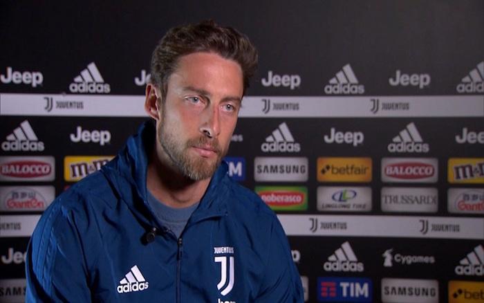 画像:『スカイ・イタリア』からのインタビューに応じるマルキージオ