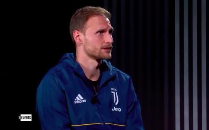 画像:『ユベントスTV』からのインタビューに応じたヘーベデス