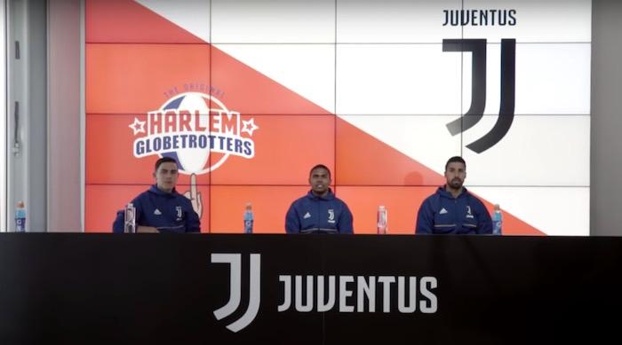画像:Juventus x Harlem Globetrotters