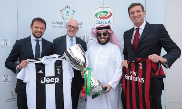 画像:スーペルコッパのサウジアラビア開催が決定