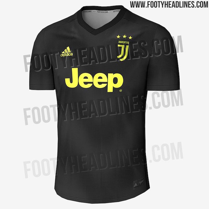 画像:Juventus 3rd Kit (2018/19 Leak)