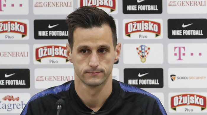 画像:クロアチア代表から離れると発表されたカリニッチ