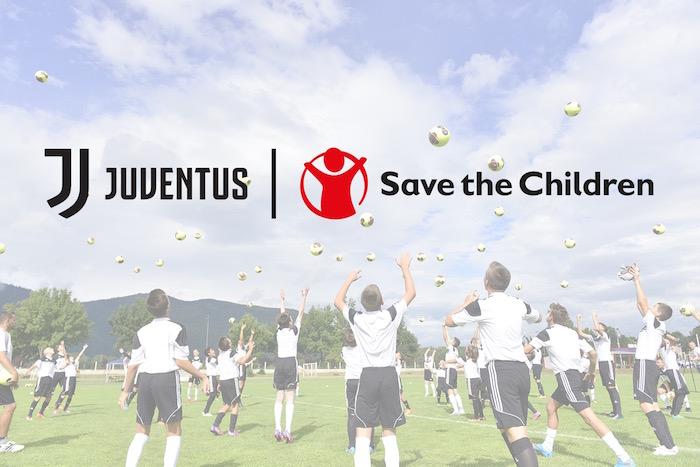 画像:Juventus x Save the Children