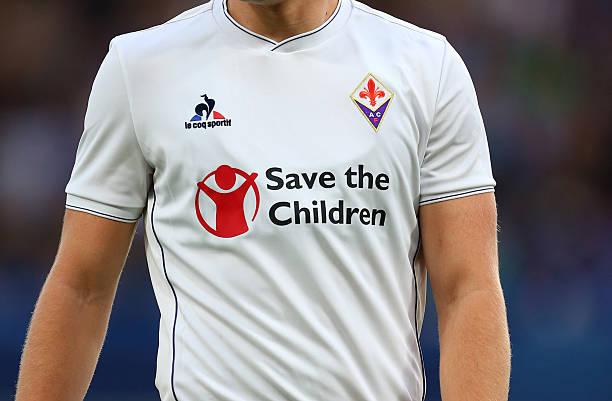 画像:Fiorentina x Save the Children