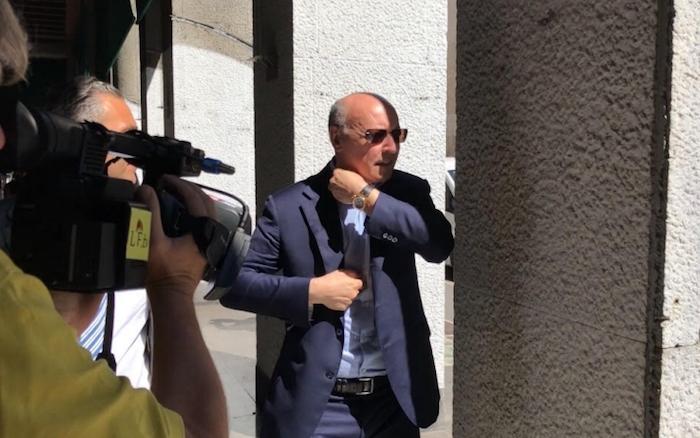 画像:ミラノで目撃されたマロッタGM