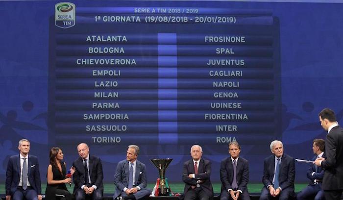 画像:2018/19 Serie A