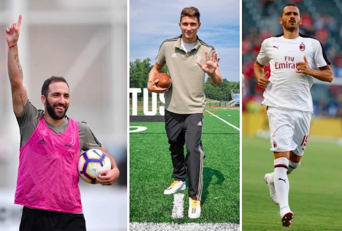 画像:ユベントスとミランの間で移籍が目前に迫っている3選手