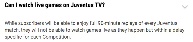 画像:FAQ of Juventus TV