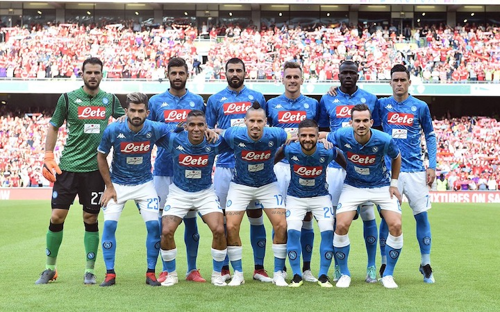 画像:2018/19 SSC Napoli