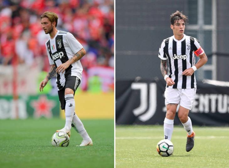 画像:パドバに期限付き移籍したクレメンツァとヴォリャッコ