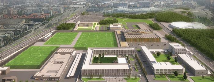 画像:Continassa, Juventus Training Center