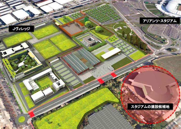 画像:ユベントス・Bチーム用の新スタジアム建設予定地