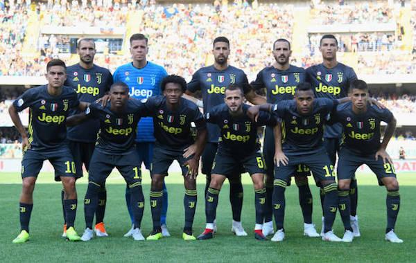 画像:Juventus 2018/19