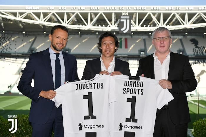 画像:Juventus x Wanbo Sports